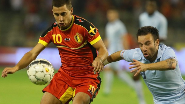Hazard Belgium vs France