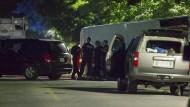 Polizei tötet Mann nach Terror-Drohung
