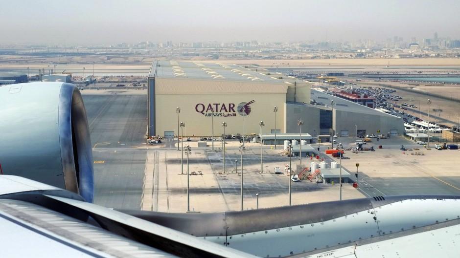 Am Flughafen von Qatar wurden mehrere Frauen einer Zwangsuntersuchung unterzogen.