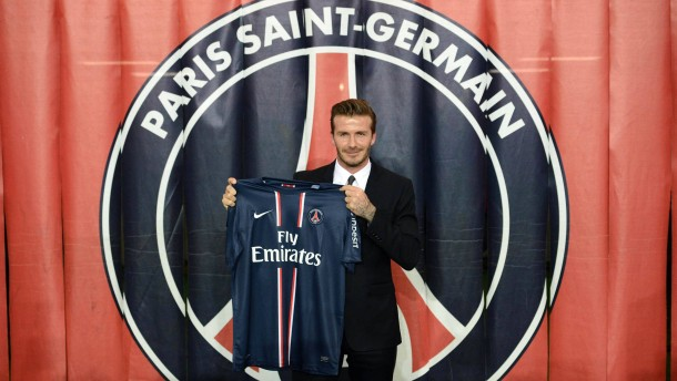 """""""Massiver Schaden, wenn PSG damit durchkommt"""": Präsentation von David Beckham in Paris am 31. Januar"""