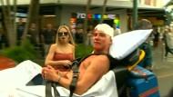 Massenschlägerei bei Boxkampf-Übertragung
