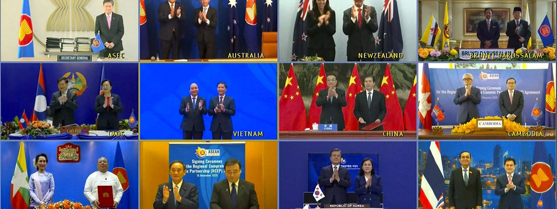 Größtes Freihandelsabkommen der Welt unterzeichnet