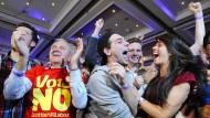 No! Schotten stimmen gegen Unabhängigkeit