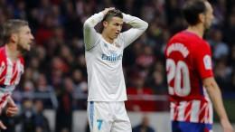 Ronaldo bleibt auch im Stadtderby von Madrid torlos