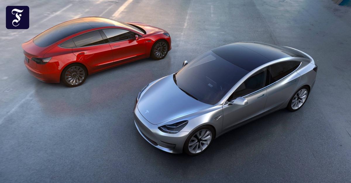 """Engpässe Bei Autohersteller Tesla Von """"Model X""""-Produktion"""