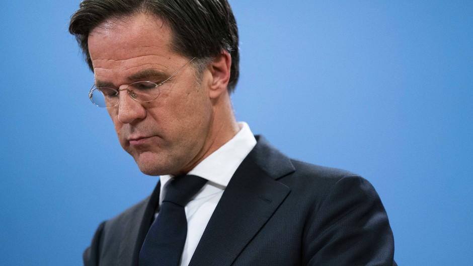 Ministerpräsident Mark Rutte ist zurückgetreten.