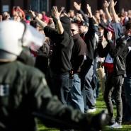 Randale vor dem rheinischen Derby: 50 bis 60 Festnahmen