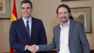Spaniens Sozialisten und linke Podemos wollen Koalition bilden