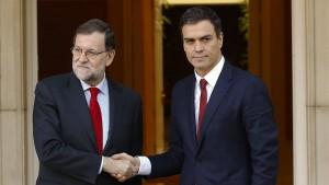 Spanische Sozialisten lehnen Rajoy ab