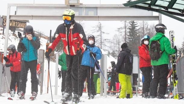 In Skigebieten dem Lockdown entfliehen
