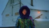 Meeka Atagootak aus Pond Inlet im Norden Kanadas hat ihren Parka für Canada Goose traditionell gestaltet.