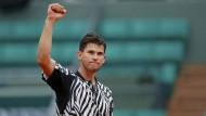 Erstmals im Halbfinale: Der Österreicher Dominic Thiem