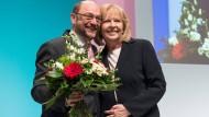 100 Prozent der Stimmen von NRW-SPD