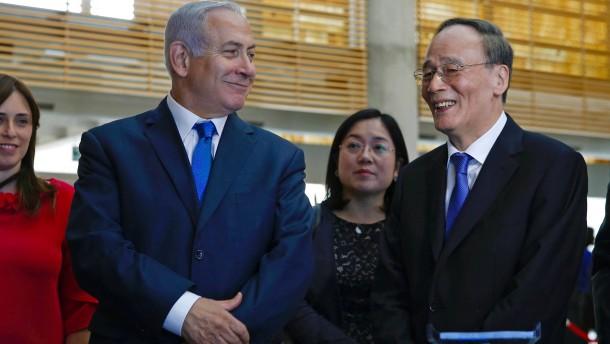 Chinas Weg und Israels Ziel