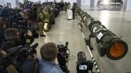 Am 23. Januar 2019 präsentierte Russland das Schachtrohr der SSC-8. Es lässt genaue Rückschlüsse auf die Größe des Marschflugkörpers zu.