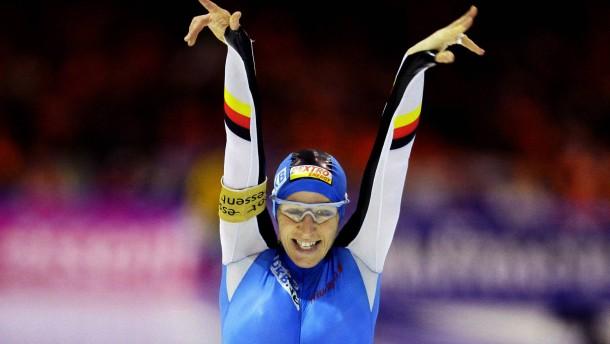 Friesinger nach 55. Sieg Preisgeld-Königin