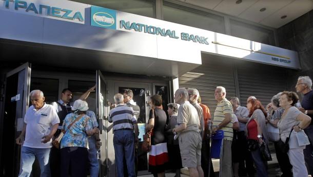 Die Luftnummern griechischer Banken