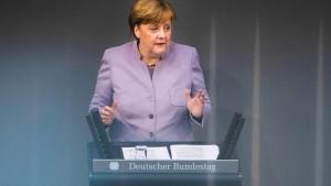 Merkels Warnung