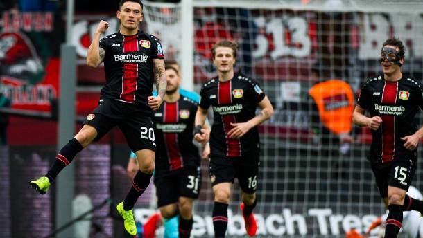 Leverkusen nimmt Kurs auf Europa