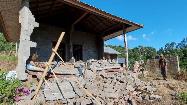 Drei Tote bei Erdbeben auf Bali