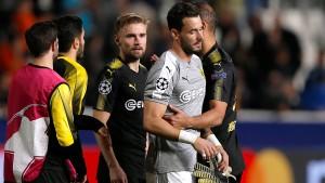 Dortmund droht Aus in der Champions League