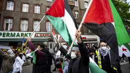 Ausschreitungen bei pro-palästinensischer Demo