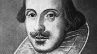 So sahen ihn die Zeitgenossen gern: William Shakespeare.