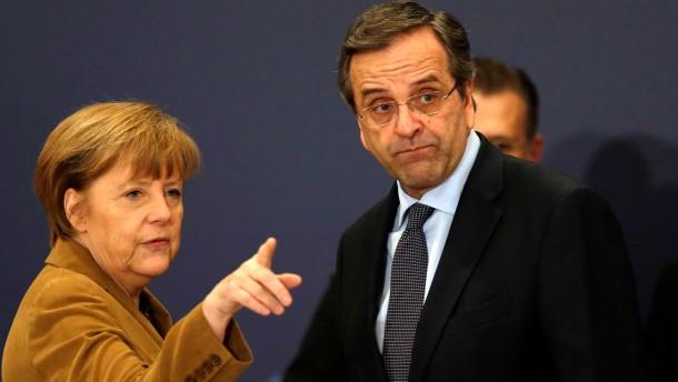 Merkel spricht Griechen Mut zu