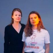 """CDU-Mitglied Jenna Behrends (links) und """"Fridays for Future""""-Organisatorin und Grünen-Mitglied Luisa Neubauer"""