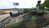 Ein Panzer mit Verspätung