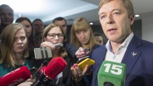 Bund der Bauern und Grünen siegt in Litauen