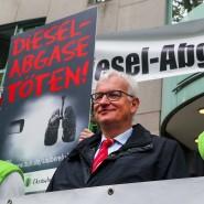 Jürgen Resch ist Bundesgeschäftsführer der Deutschen Umwelthilfe und ist bei etlichen Dieselfahrern nicht wirklich beliebt.
