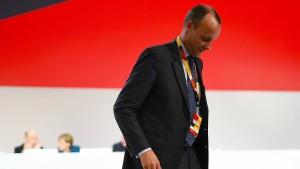 CDU-Führung bemüht sich weiter um Merz
