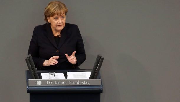 Merkel sieht Mehrheit der Deutschen hinter sich