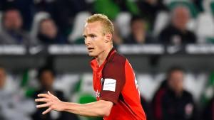 Eintracht-Profi Rode kehrt gegen Vaduz in die Startelf zurück