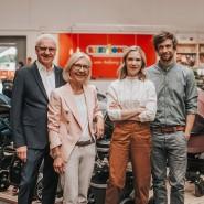 BabyOne aus Münster: Gabriele und Wilhelm Weischer (links) sowie ihre Kinder Anna Weber und Jan-Willem Weischer.