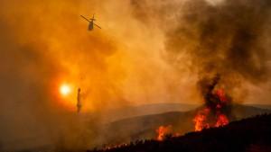 Größter Waldbrand in der Geschichte Kaliforniens