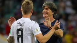 Löw: Kroos wird weiter eine wichtige Rolle spielen