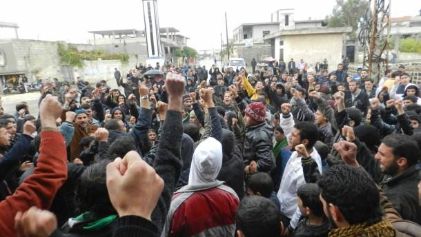 Regierungstruppen riegeln Damaskus ab