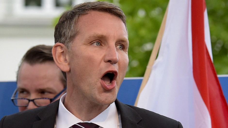 AfD-Politiker Björn Höcke forderte die Einstellung aller Flügel-Aktivitäten.