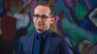 """""""Rechtssicherheit gibt es nur mit der EU"""": Justizminister Heiko Maas."""