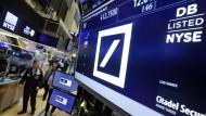 Hedgefonds zweifeln an Deutscher Bank