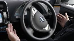 Nissan testet fahrerlose Taxis