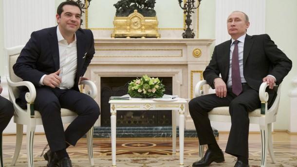 Russland will Lebensmittelembargo für Griechenland lockern