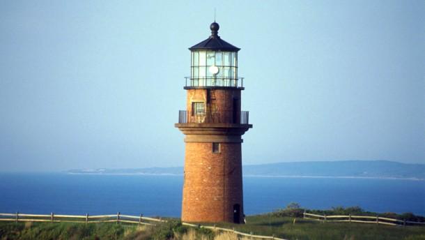 Leuchtturm und Lampion