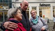 Wolfgang Tiefensee beim Wahlkampf in Thüringen