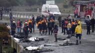 Tödlicher Hubschrauberabsturz in Istanbul