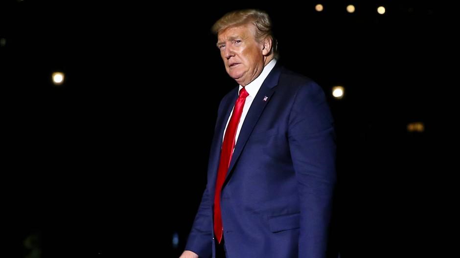 Hat viele Ziele, erreicht aber nur selten Konkretes: Donald Trump am Montagabend in Washington.