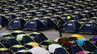 Brasilien mobilisiert seine Massen: Zeltlager an der Universität Sao Paulo