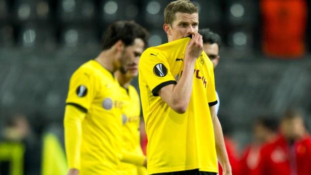 Borussia Dortmund ohne Glück